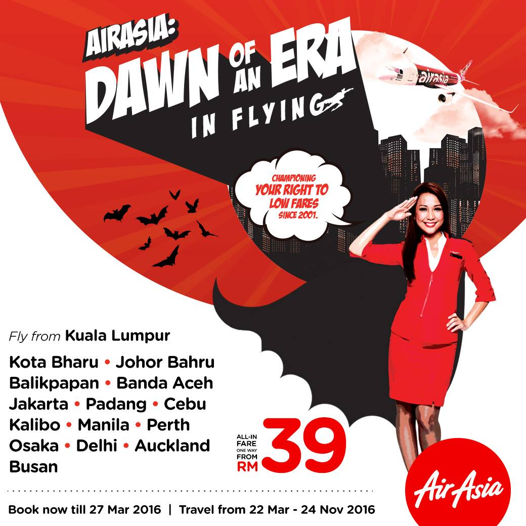AirAsia Promo: Dawn Of An Era In Flying