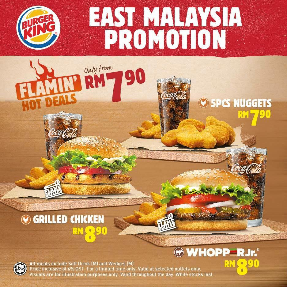 Burger King Flamin' Hot Deals
