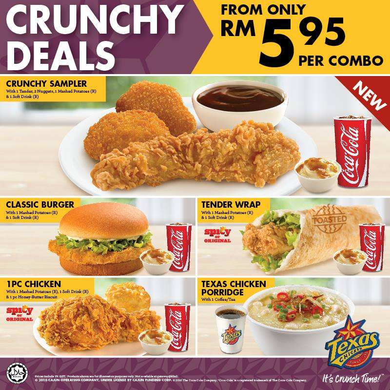 Texas Chicken Crunchy Deal