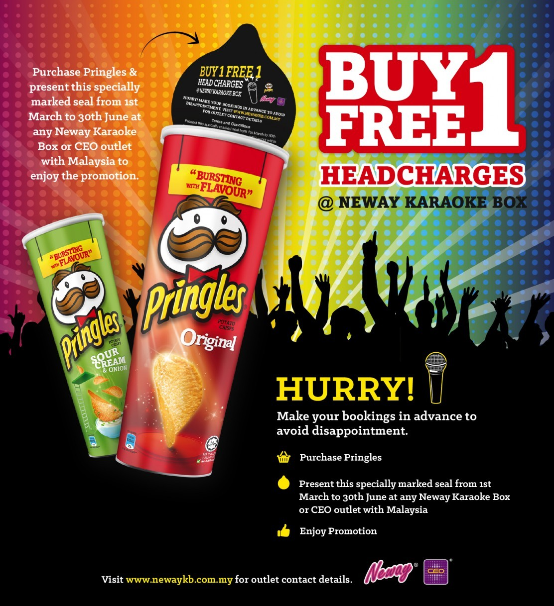 Neway Karaoke Box Buy 1 FREE 1