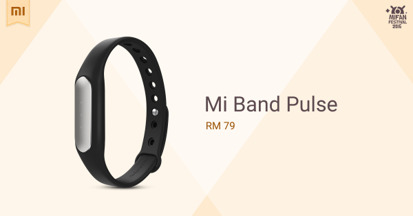 Mi Band Pulse come to Malaysia
