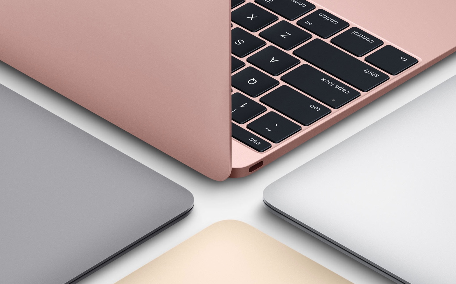 Apple New Macbook - Rose Gold in Color