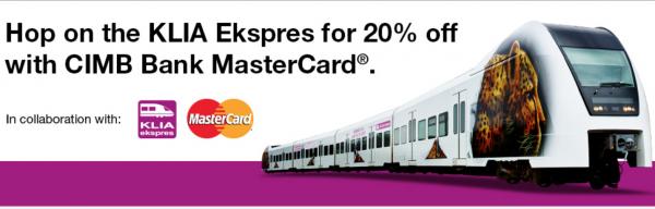 Mastercard Privileges - KLIA Ekspres Promotion