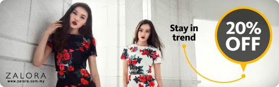 Enjoy ZALORA 20% OFF with Maybank Cards