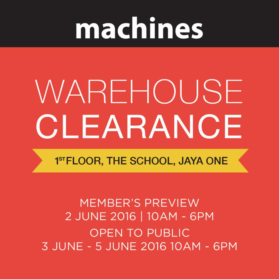 Machines AppleWarehouseClearance