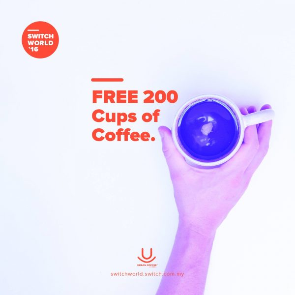 FREE COFFEE -  Switch World 2016