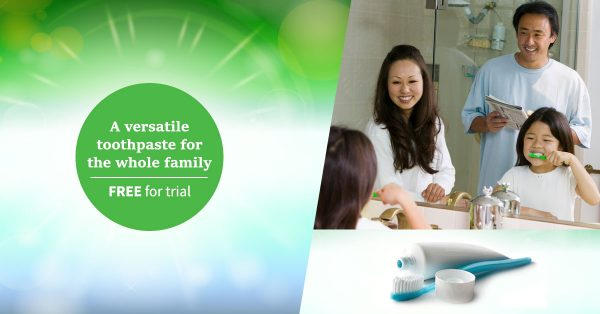 Free Sample for trial - A versatile toothpaste