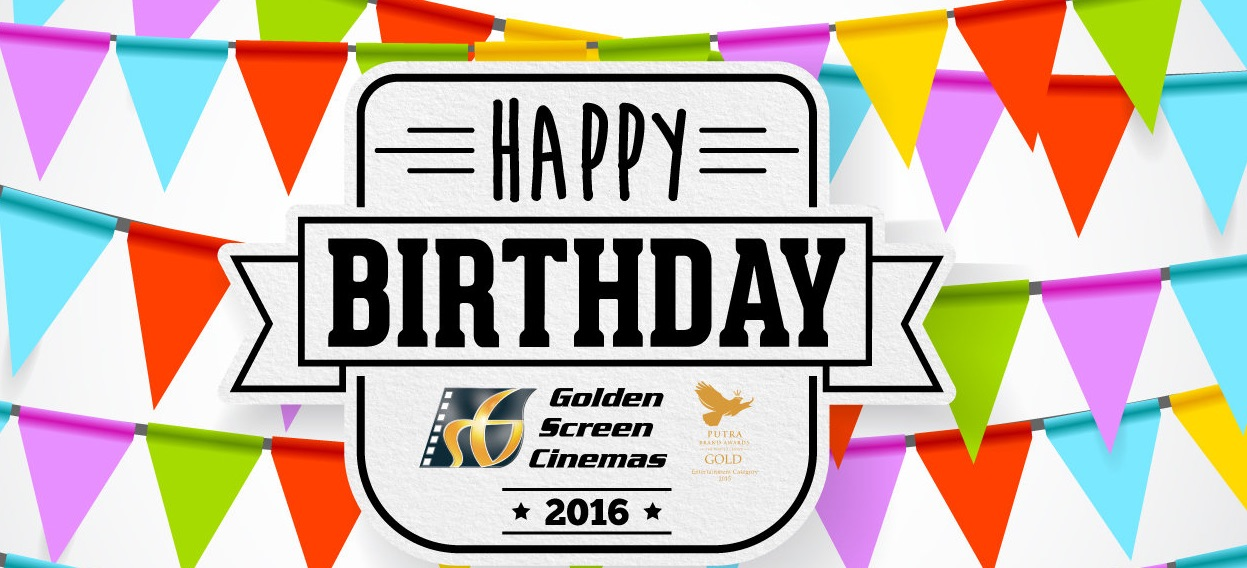 TGV, GSC, MBO - FREE Birthday Movie Ticket 2016