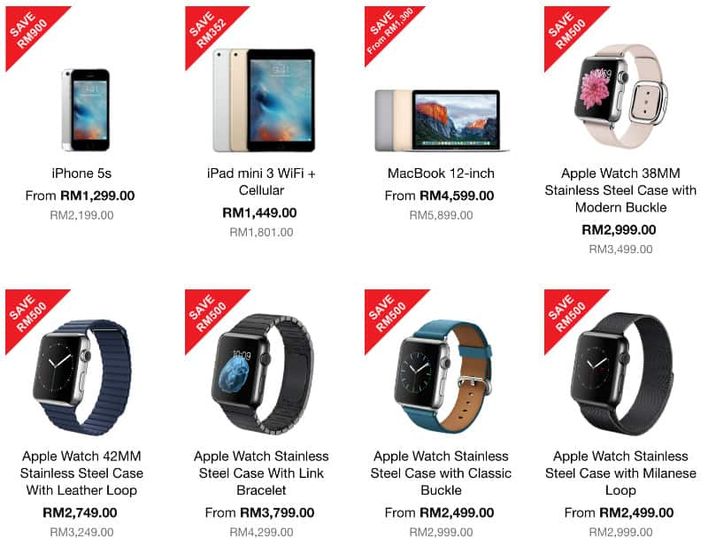 Apple Product Promotion by Machines! Discount up to RM1300