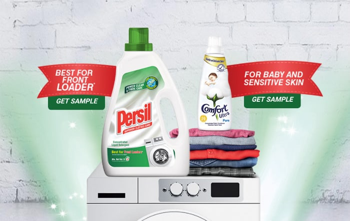 Unilever Persil and Comfort Free Sample Giveaway