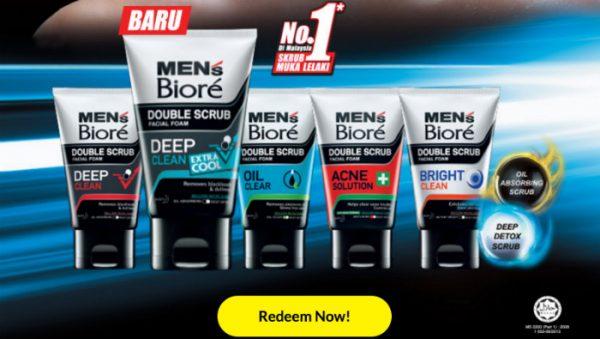 Men's Biore FREE Sample Giveaway!