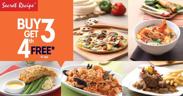 Secret Recipe September Promotion