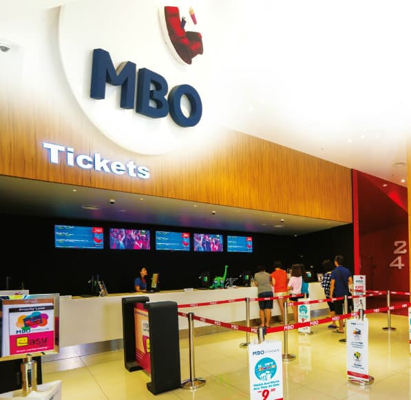 MBO Cinemas BUY 1 FREE 1