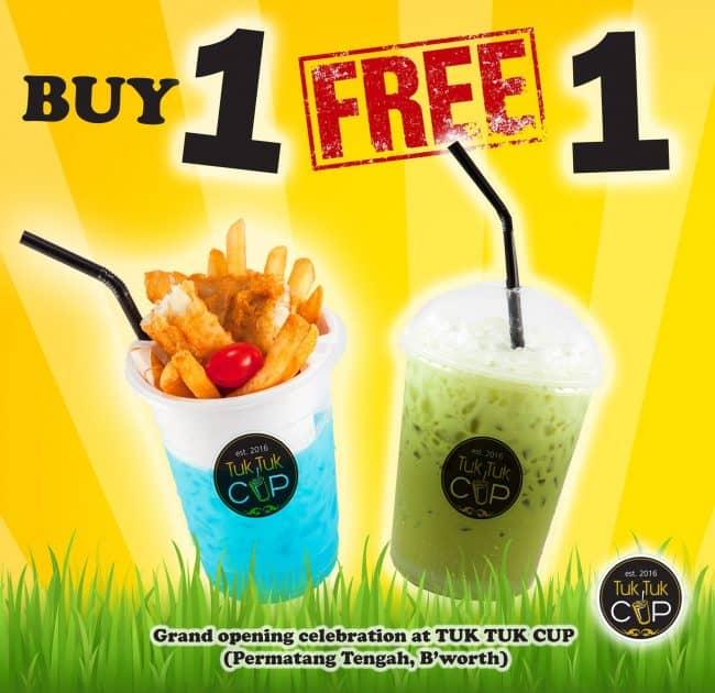 Tuk Tuk Cup Buy 1 FREE 1