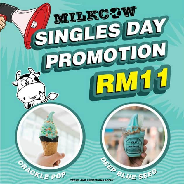 Milkcow Singles Day Promotion