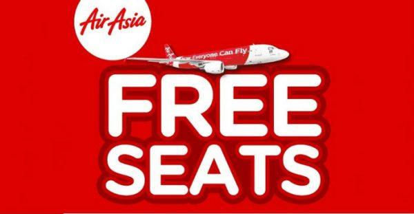 AirAsia Free Seat 2017/2018