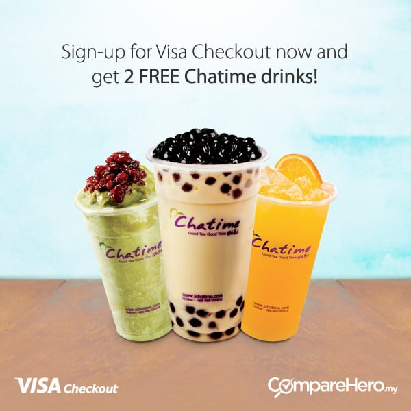 free Chatime drinks