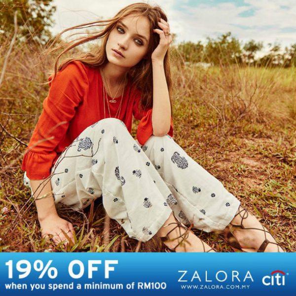 Zalora Discount Code - Shop with Citi Bank Credit Card