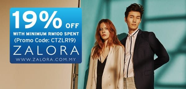 Zalora Discount Code - Shop with Citi Bank Credit Card
