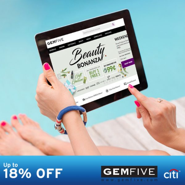 Gemfive Promotion 2016! Special Discount with Citibank Credit Card