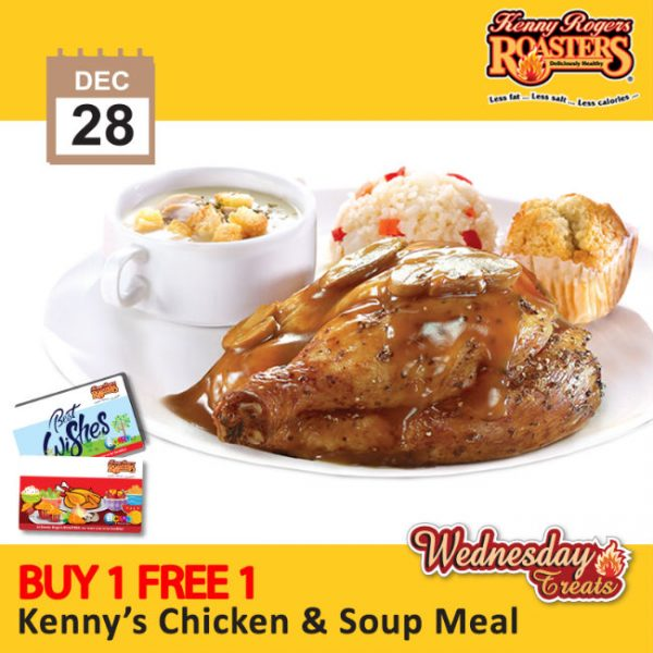 Kenny Rogers Buy 1 FREE 1