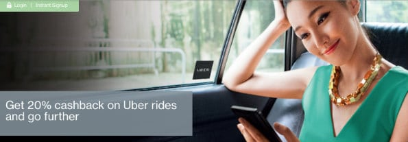 Enjoy UBER 20% cashback 2017 by Standard Chartered