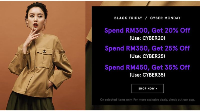 Zalora Black Friday