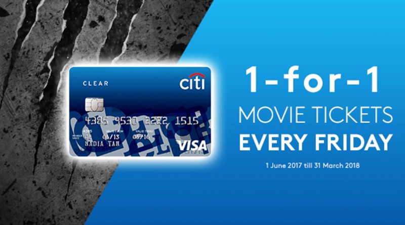 Citi Clear Card Buy 1 FREE 1