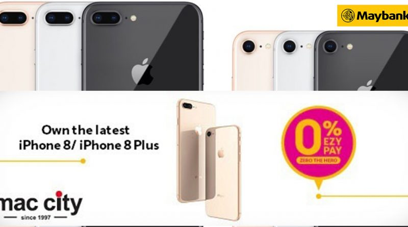 iPhone zero instalment at Mac City + FREE powerbank