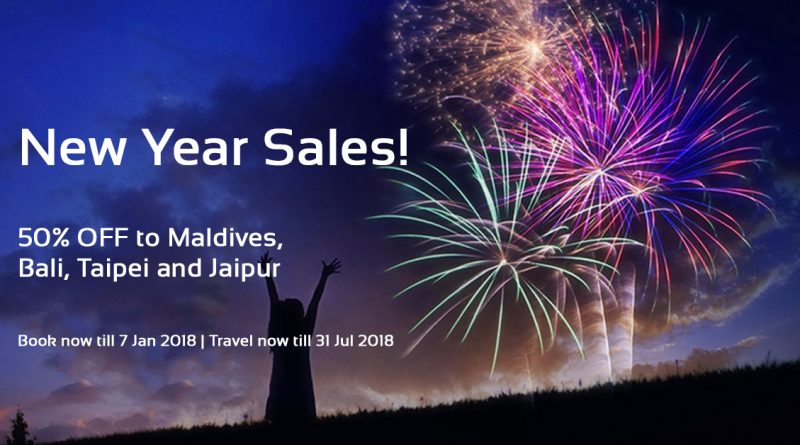 AirAsia New Year Sales