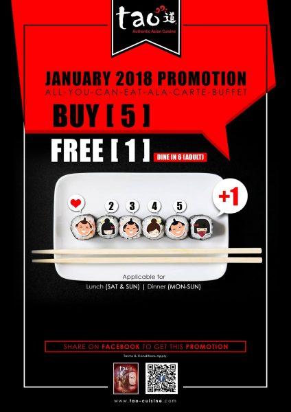 Tao Buy 5 FREE 1