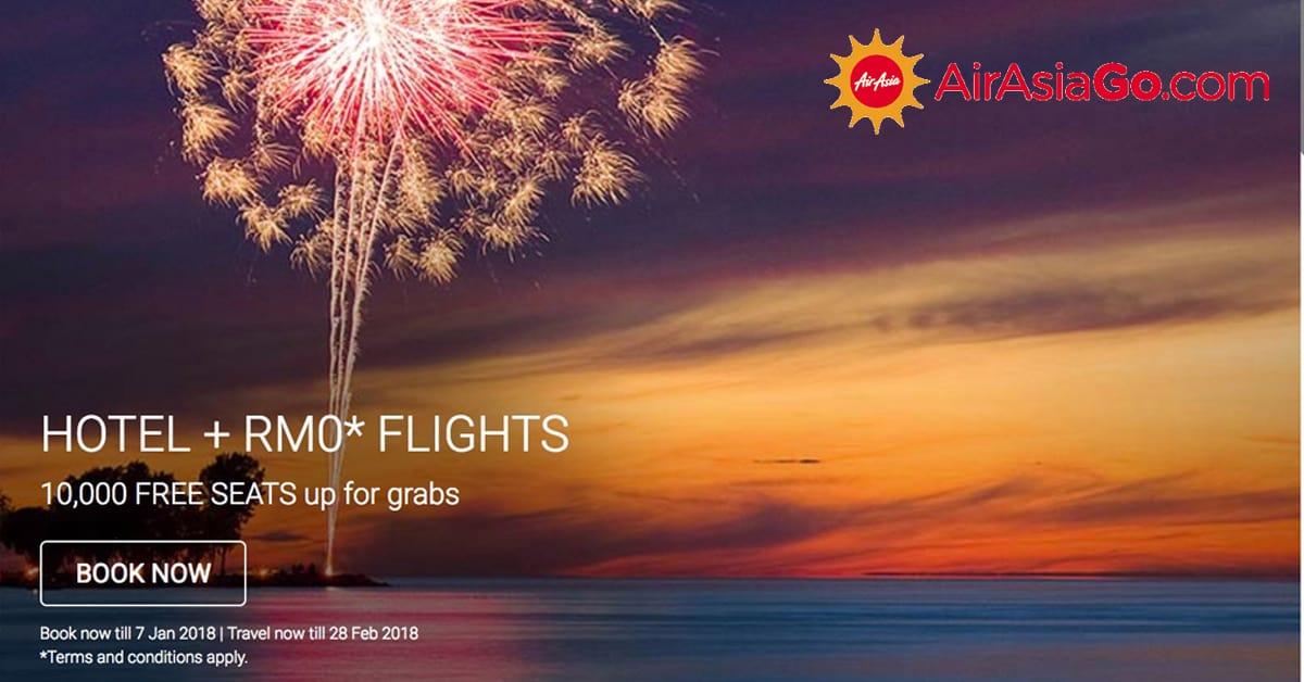 AirAsiaGo Free seat 2018
