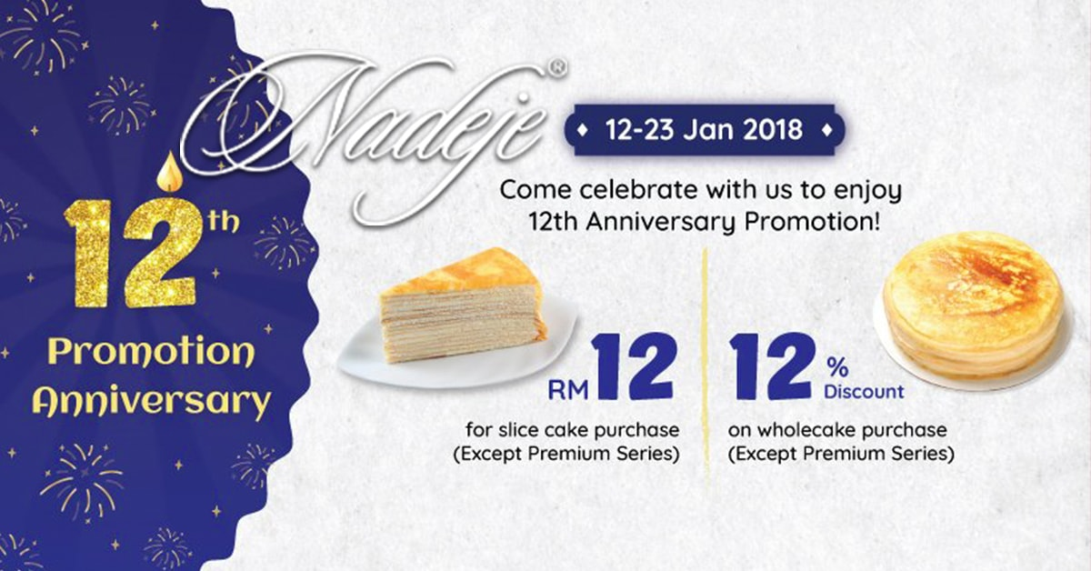 Nadeje Promotion 2018